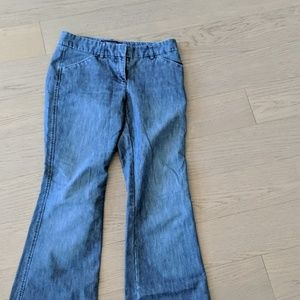 Express Editor flare jeans